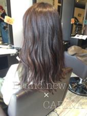 ダークアッシュ hair  make Brand new所属・村尾享祐のスタイル