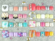 フット定額ネイルサンプル☆ nail salon Grantus所属・ネイルサロングランタスのフォト