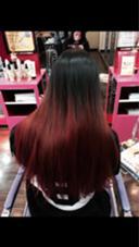 ブリーチ、マニキュア、赤 AshHair烏丸店所属・長田裕太のスタイル