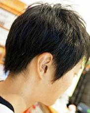 髪切虫所属・田中諒のスタイル