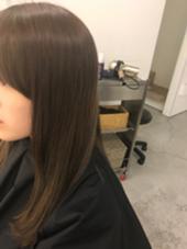 カラー、トリートメントで髪サラサラ綺麗!! Pacific Dazzle baton所属・滝澤洸希のスタイル