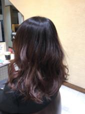 ブリーチなしの赤系グラデーションカラー!! Hair Garden Riesort所属・和泉勇輝のスタイル