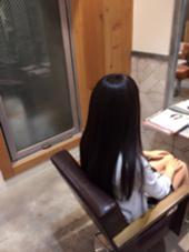 アッシュ系トーンダウン✨トリートメントもしてキレイに仕上がりました✨ AUBE HAIR 上野店所属・福間友人のスタイル