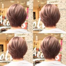 モーブアッシュ✨  重軽ボブに透明感のあるモーブカラー✨ Hair design Aeolus所属・親泊功平のスタイル