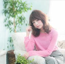 透明感バツグン◎のイルミナカラー AUBE hair sense所属・リー栄華のスタイル