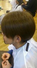 真っ黒地毛からハイトーンカラー(1回ブリーチ) 松本平太郎美容室 国立店所属・尾亦 花織のスタイル
