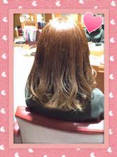 マッドアッシュ☆ 毛先にあったブリーチ毛を生かしたカラーです☆ neolive arch所属・伊豆本蘭のスタイル