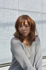 [ロマンスフェミニン] 毛先にワンカールつけたガーリーなスタイル☆  Helena tokyo所属・佐藤すすむのスタイル