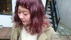 ふわふわピンクアッシュ★ Ravo hair所属・安達瑛のスタイル