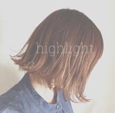 動きがてて良い感じに デザインカラー ハイライト antheM所属・イガラシリナのスタイル