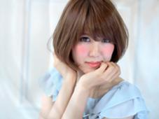 透明感、外国人風カラー★ショートボブ risa…のスタイル