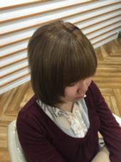 ハイトーンカラーに暗めのローライトを入れました☆ アッシュ上大岡店所属・蜂谷貴洋のスタイル