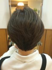大人前下がりグラデーションボブ 頭の形をより綺麗に見せるカット Ursus hair Design所属・所祥平のスタイル