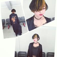 コンテストスタイル  (インナーカラー イエロー) Neolive mimo所属・サイトウ シュンのスタイル