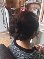 卒園式のヘアセット HairDiA所属・西島豪のスタイル