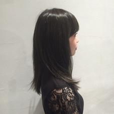ディープアッシュ 暗くてもアッシュだと綺麗です! KORD所属・コムラアユカのスタイル