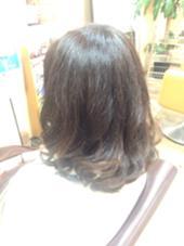 大人っぽさヒカル☆ ダークブラウングラデーション♫ 八木駿輔のスタイル