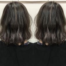 highlight a color Hair Make Ash所属・寺内紳悟のスタイル