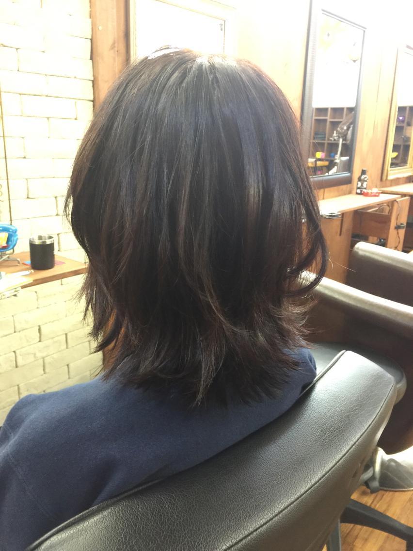 黒染めした髪を出来うる限り透明...