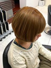 ブリーチ2回の髪のリタッチ #ブリーチ #リタッチ #馴染ませられます LUCK本厚木所属・山本果穂のスタイル