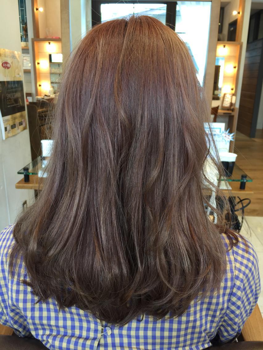 ショート ミディアム セミロング ロング カラー パーマ ヴェールカラーで7色変化
