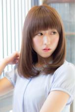 【オリジナル縮毛矯正】×ロブ angelgaff所属・森田真一郎のスタイル