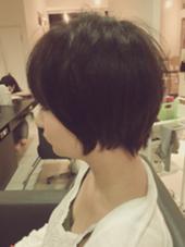 ロングからバッサリショート!!  HAIR STORY Novia所属・西田優のスタイル