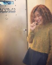 カラー ショート セミロング パーマ ヘアアレンジ ミディアム メンズ ロング スパイラルパーマ+フロントメッシュ