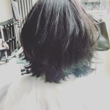外ハネミディ e.m.a     international所属・佐藤僚太のスタイル