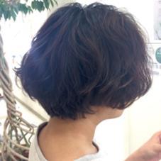 フワフワボブ hair  VERDE所属・いけだゆうのスタイル