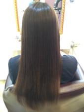 《oggiottoトリートメント》 毛先の結合が弱かったのでケラチン系のppt(髪に必要な栄養物質)をいれてあげ切れ毛の防止や枝毛の防止を試みました! SWEETROOM所属・谷口将太のスタイル