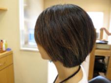 髪を伸ばしつつ綺麗なラインのボブです! HairSalon   JEDI所属・阿部遥夏のスタイル