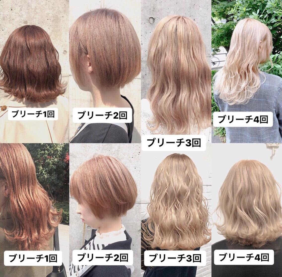 #カラー 🇰🇷髪が元々赤みが強い人のミルクティー🇰🇷