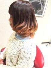 ナチュラルグラデーションカラー hair&make EARTH鈴鹿店所属・大石郷のスタイル