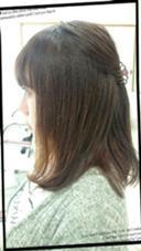 重めミディアムスタイル HairVERDE所属・キンジョウエナミのスタイル