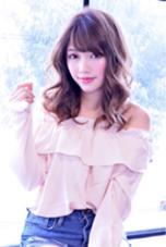 スロウカラー♪アッシュピンク☆ B4U hair所属・IshibashiKazuyukiのスタイル