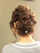 ゆるアップ HAIR  MAKE   muse所属・森脇麻紀子のスタイル