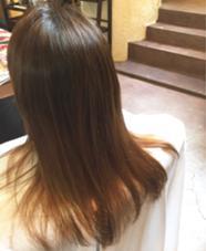 白髪染めでもグラデーションで明るく!  ワンメイクカラーでいけます! Hair  Atelier Ririan所属・マエダシンゴのスタイル
