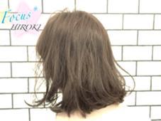 シーベッドアッシュボブ Focus*JAPAN所属・村上宏樹のスタイル