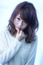 ゆるふわパーマで女子力UP a.meteru-KAMIYUI所属・山田睦のスタイル