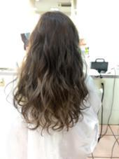 ナチュラルグラデーション☆ブリーチオンカラー! R's hair所属・中山理沙のスタイル