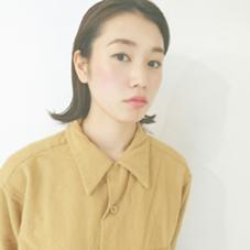 natural hair ヤマシタマコトのスタイル