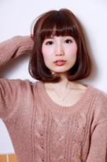 カッパーベージュカラー  竹ヶ原健司のスタイル