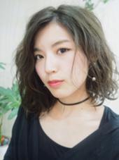 グレージュルーズウェーブ☆ ヘアレスキュー カプラ所属・おがわようしんのスタイル