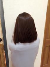 アッシュ系カラー✨ 抜け感が出てかわいいですね! AUBE HAIR 上野店所属・福間友人のスタイル