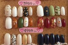 10月の定額デザイン♡ ¥5900 ¥4900拡大写真です꒰⌯͒•·̫•⌯͒꒱ Candy Nail所属・Mayutan♡のフォト