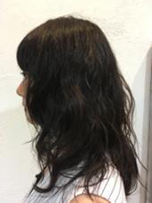 ゆるふわパーマ HYKE hair&lifedesign所属・伊藤里沙のスタイル