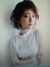はね感を生かしたナチュラルスタイル✨✨ MODE K's所属・小野侑子のスタイル