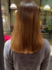 ブリーチ、グラデーションカラーなどを繰り返した髪もJamのセレクトトリートメントでサラサラに! 星野将司のスタイル
