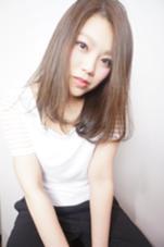ラフなナチュラルストレート Hair Atelier Pul Ravi 弥生が丘店所属・白石真宏のスタイル
